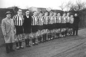 Februar 1962: B-Klasse-Spiel in Germersheim - Sieg des FVD mit 9:1 Toren!